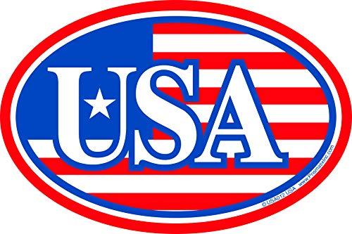 Prismatix Patriotic Magnet - American Flag with...