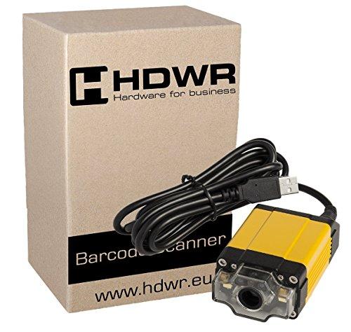 Stationär USB Professional 1D/2D Barcode-Scanner fortgeschritten, Metallgehäuse, QR-Code, Aztec, Maxicode, Data Matrix