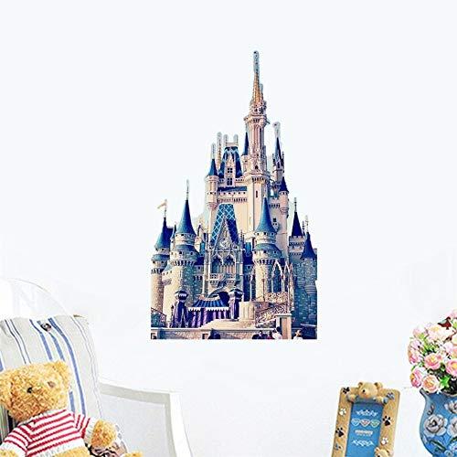 Fototapeten Fee Prinzessin Cinderella Schneewittchen Brautkleid Prinzessin. Wandaufkleber für Mädchen Schlafzimmer
