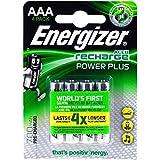 Energizer PowerPlus Micro AAA Akku 700mAh 4er Blister,