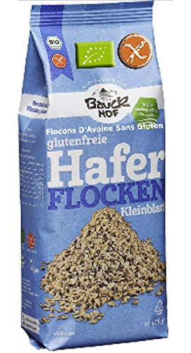 Fiocchi Di Avena Senza Glutine 'Integrale' Bio 475g | Fiocchi Avena Bio Certificata Senza Glutine 100% Biologico Senza OGM - Senza Conservanti - Senza Zucchero - Avena Integrale