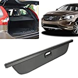 xc60 cargo cover - Car Trunk Cargo Cover Security Shield Shade Black Fits 2010-2017 Volvo XC60