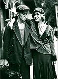 Jürgen Vogel und Anica Dobra - Vintage Press Photo