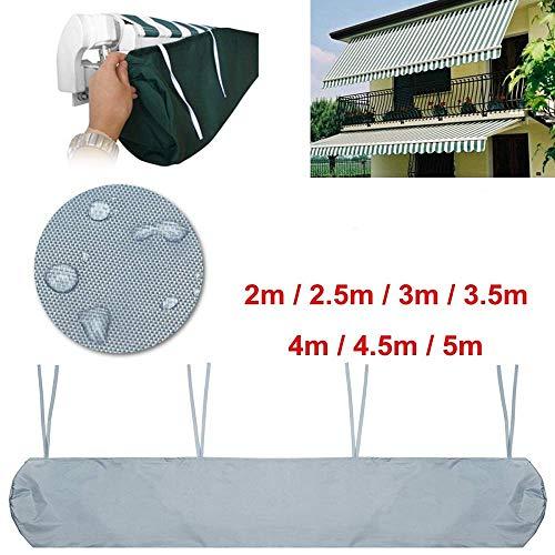 Baogu Schutzhülle für Markisen Markisenabdeckung wasserdicht für die Lagerung im Winter (5,0 m)