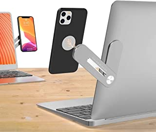 ColorBlocks Magnetic Phone Holder,Side Mount Clip for Laptop : Fixed Clip on Flat and Slim Monitor or Laptop Monitor, Safe...