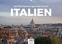 Auf Entdeckungsreise durch Italien (Wandkalender 2022 DIN A2 quer): Eine wundervolle Reise nach Italien. (Monatskalender, 14 Seiten )