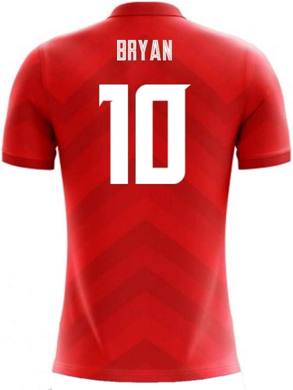 2018-19 Costa Rica Airo Concept Home Shirt (Bryan Ruiz 10)