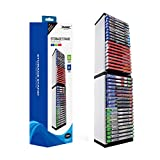 PS4 Game Storage Tower - Universal Games Storage Tower - Game Disc Tower Stand CD Storage Holder Disc Rack per PS5 - Rack di archiviazione giochi PS5/PS4/NS/XBOX