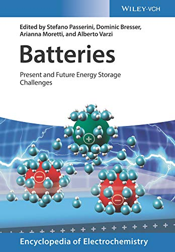 Batteries: Present and Future Energy Storage Challenges (Encyclopedia of Electrochemistry) (English Edition)