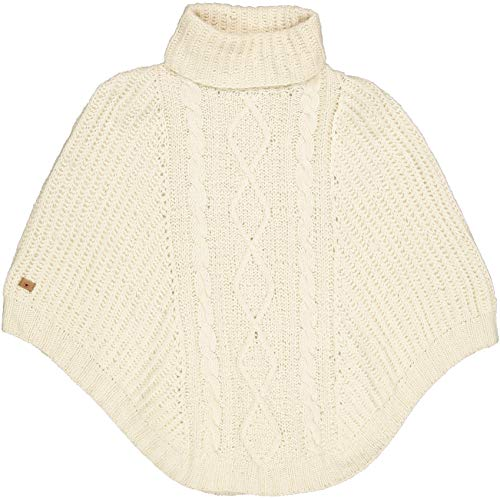 FUZA WOOL OF DENMARK dames prinses poncho winter merinowol