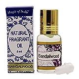 Magie De L'Inde Parfum Naturel Parfum De Bois De Santal 100% Pur Et Naturel - 5 Ml