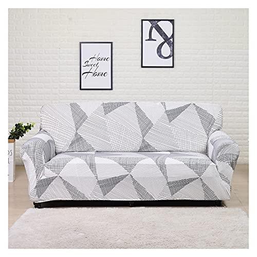SYOUCC Cubre Sofa Cubierta de sofá Impreso Funda de sofá del Sistema 1/2/3/4 Sofá de Asiento Tapa de sofá Protector de Muebles extraíbles (Color : 25, Size : 3 Seat 190-230CM)