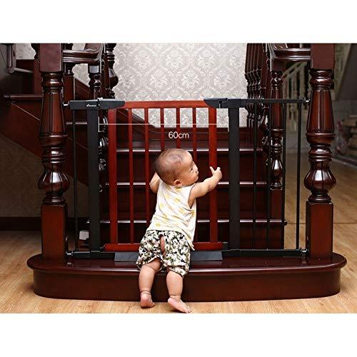 WUFENG-Barrière de sécurité Portico Arch Baby Gate Barrières De Sécurité Intérieure Escaliers Portes Idéal for Les Enfants Et Les Animaux Domestiques (Color : A, Size : 75-82cm)