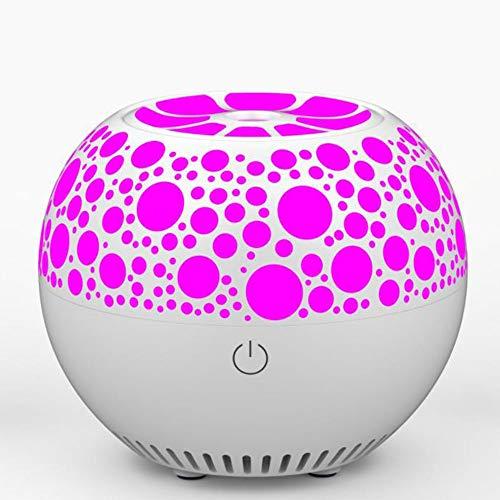 OUYA Difusor De Aceite Esencial con Altavoz Bluetooth, Ambiente Relajante En El Dormitorio, con Luces LED De 7 Colores, Regalo para Mujeres, Hombres, Niños, Niñas,01