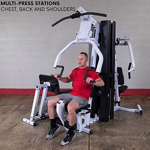Product Image 2: Body-Solid EXM3000LPS Multi-Station Selectorized Gym for Light Commercial and Home Gym