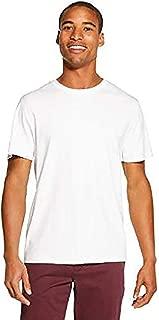 DKNY Men's Solid Cotton Short Sleeve Tee Shirt