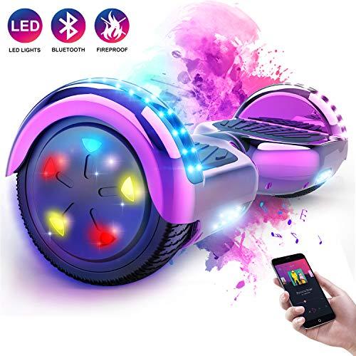 MARKBOARD 6.5 Inch Hoverboard, 6.5 Inch LED elektrische scooter, elektrische scooter E-Balance, E-Skateboard, elektrische scooter Bluetooth