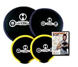 Hyperwear SandBell SLAM! Pre-Filled Weights Workout Intro DVD Bundle with 4 SandBells
