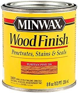 Minwax 22180 1/2 Pint Puritan Pine Wood Finish Interior Wood Stain