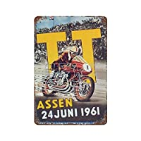 ASSEN 24JUNI 1961 Art Tin Sign 30*40cm vintage home accessories displate tin signs retro metal plaques Iron Painting Rusty Poster