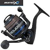 Fox Matrix Aquos Ultra 3000 - Angelrolle zum Friedfischangeln, Stationärrolle zum Feedern, Rolle zum Feederangeln, Feederrolle