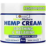 Natural Ingredients: our hemp cream is formulated with hemp oil, arnica montana, turmeric, aloe vera, emu oil, boswellia extract, menthol. Safe & natural formula. Maximum Strength: this product helps with hips, joints, neck, back, elbows, fingers, ha...