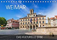 Weimar - das kulturelle Erbe (Tischkalender 2022 DIN A5 quer): Wandeln Sie auf den Spuren von Schiller und Goethe in der charmanten Kulturstadt Weimar (Monatskalender, 14 Seiten )