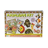 Ekta Traditional and Contemporary Madhubani Art Set, Multi Color