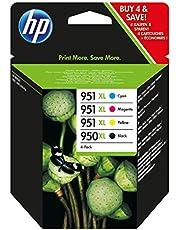 HP 950/951 x długość, duży, czarny, cyjan, magenta, żółty wkład atramentowy (czarny, cyjan, magenta, żółty, wysoki, 10-90%; -40 - 60 °C; 5 - 35 °C; 10 - 90%)
