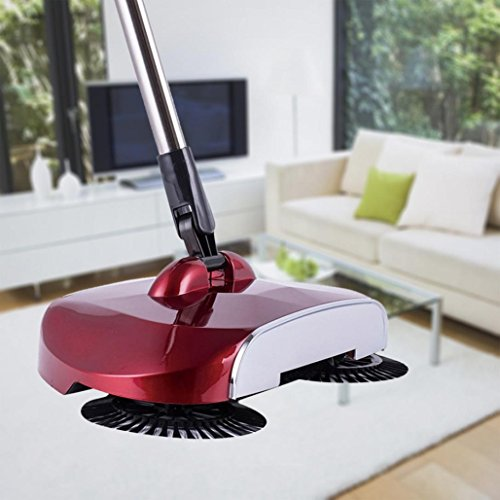 %18 OFF! New Arrival 360 Rotary Telescopic Floor Dust Sweeper -Home Sweeper With Adjustable Handle ,...