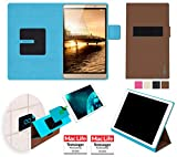 reboon Hülle für Huawei MediaPad M2 Tasche Cover Case Bumper | in Braun | Testsieger