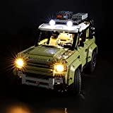 BRIKSMAX Led Lighting Kit for Land Rover Defender - Compatible with Lego 42110 Building Blocks Model- Not Include The Lego Set