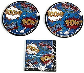 Best superman party plates Reviews