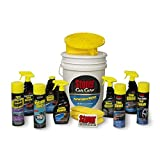 Stoner Car Care 99049 15-Piece Performance Essentials Complete Car Detailing Kit with Invisible Glass Cleaner, Microfiber Cloths, 5-Gallon Bucket, Wheel Cleaner and More Gift for Vehicle Enthusiasts