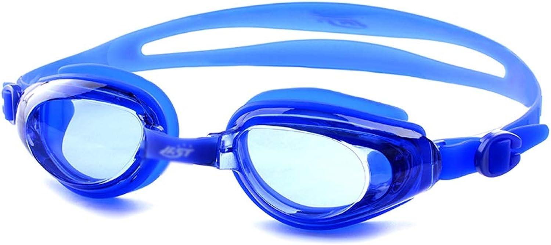 WYNZYYYYJ Schwimmbrillen, Professionelle Schwimmbrillen Männer und Frauen wasserdicht und Anti-Fog Großer Rahmen Komfortable Brille B07QHFNJTR  Guter Markt