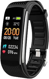 Pulsera Actividad, Reloj Fitness Tracker para hombre y mujer, Smartwatch Smartband, pulsómetro, podómetro, impermeable IP67, contador de pasos, seguimiento de actividad – para Android e iOS