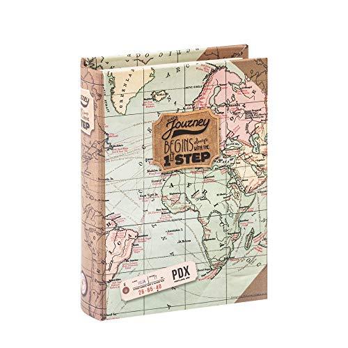 Caja con forma de libro Legami Map