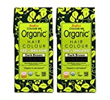 Radico Colour Me Organic - Tinte para el pelo vegetal, color marrón oscuro, 2...