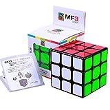 cuberspeed Moyu Mofang Jiaoshi 3x3 Black Magic Cube Cubing Classroom MF3 Black 3x3x3 (Guanlong Plus) Speed Cube
