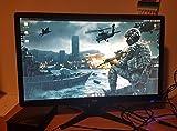 Acer Predator G246HLFBID 61 cm (24 Zoll) Monitor (VGA, DVI, HDMI, 1ms Reaktionszeit, EEK A) schwarz/rot