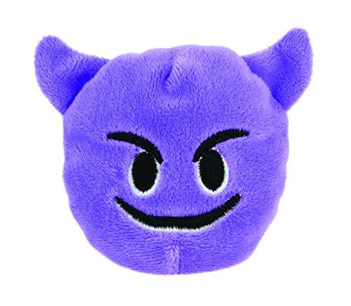 KIDS PREFERRED Emoji Beanbag - Smiling Face with Horns Plush