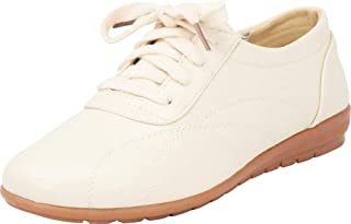 Cambridge Select Women's Lace-Up Padded Casual Comfort Oxford