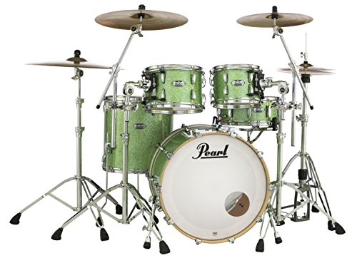 Pearl Masters Maple Complete MCT924XEDP/C348 4 Piece Drum Shell Pack,...