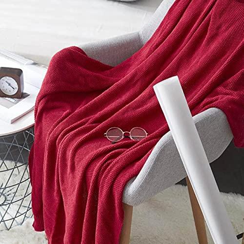 UKKD Bedsure Mantas para Sofás de Franela Knitted Thread Blanket Winter Bedspread On Bed Travel Airplane Sofa Plaid Home Decor Office Nap Blankets