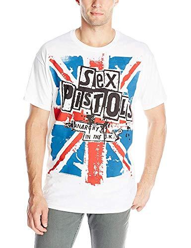 dongwanshifuxinmaoyiyouxiangongsi Men's Sex Pistols Anarchy in The UK T Shirt