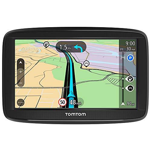 TomTom GPS Voiture Start 52, 5 Pouces, avec les Cartes d'Europe, Essai des Alertes de Zones de Danger, Fixation Reversible Intégrée