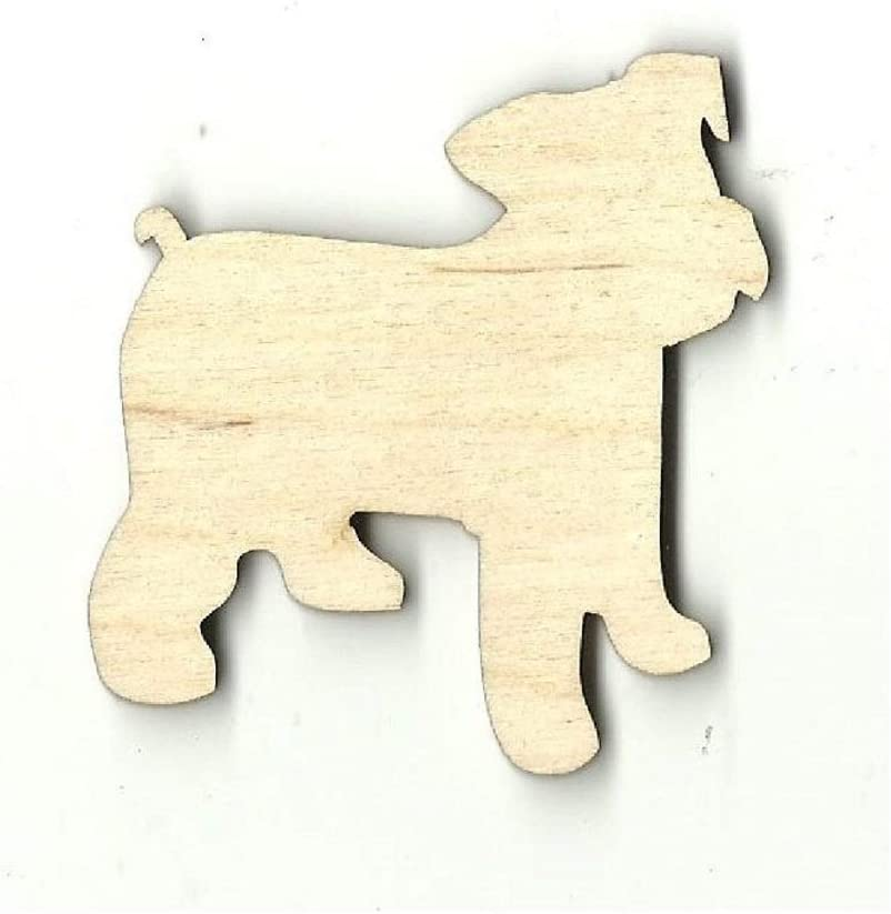 Add a Hole Puppy Our shop OFFers the best service Dog - Time sale Laser Shape Craft Wood Unfinished Cut Out