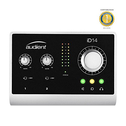 Audient ID14 10-in / 4-out-USB-Desktop-Audio-Interface