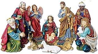 Woodington's Holy Family 8 Inch Christmas Nativity Scene 11-Piece Set