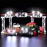 Seasy Juego de luces para coche Lego Speed Champions Rallyeauto 1967 Mini Cooper S y Buggy 2018 Mini John Cooper Works, juego de iluminación LED compatible con Lego 75894 (sin set Lego)